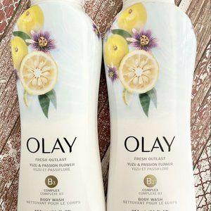 Olay Fresh Outlast Body Wash Yuzu Passion Flower